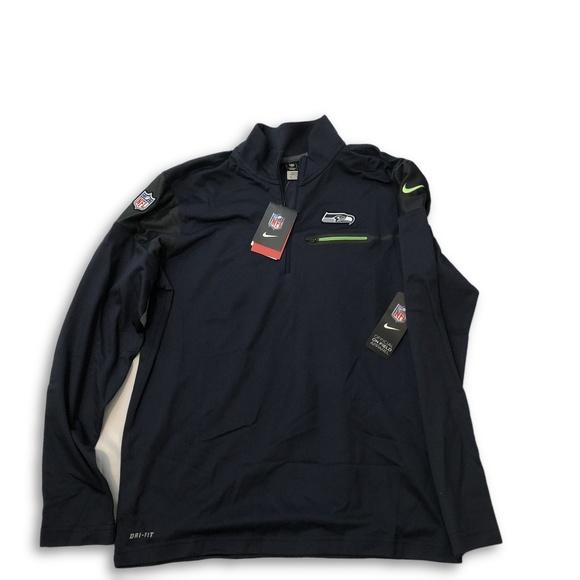 5f36827a Nike Jackets & Coats   Seattle Seahawks Elite Coaches 12 Zip Jacket ...
